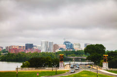 Washington, DC cityscape Royalty Free Stock Photo
