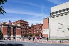 Washington DC commémoratif de musée d'holocauste des Etats-Unis images stock
