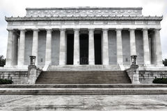 Washington DC commémoratif national du Président Lincoln photographie stock
