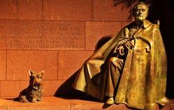 Washington DC commemorativo della statua di FDR Immagine Stock Libera da Diritti