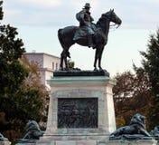 Washington DC commemorativo di Capitol Hill della statua degli Stati Uniti Grant Fotografia Stock Libera da Diritti