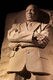 Washington DC commemorativo di notte del Martin Luther King Immagini Stock
