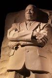 Washington DC commémoratif de nuit de Martin Luther King Images stock