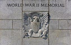 Washington DC conmemorativo de WWII Foto de archivo