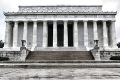 Washington DC conmemorativo nacional de presidente Lincoln Fotografía de archivo
