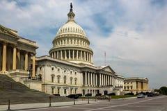 Washington DC, construção do Capitólio EUA Foto de Stock Royalty Free