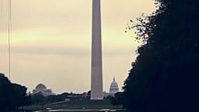 Washington DC, construction de capitol des USA clips vidéos