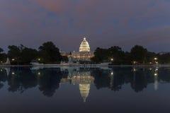 Washington DC, costruzione degli Stati Uniti Campidoglio Immagini Stock