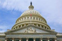 Washington DC, costruzione del Campidoglio U.S.A. Fotografie Stock