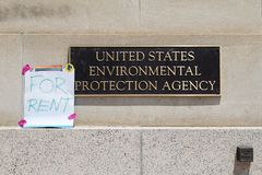 Washington DC, Czerwiec 11, 2017 - USA agencja ochrony środowiska obraz stock