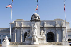 Washington DC da estação da união Fotografia de Stock Royalty Free