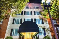 Washington DC da noite da casa de Blair House Building Second White imagens de stock royalty free