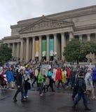 WASHINGTON DC - 22 de abril de 2017 marzo para la ciencia Fotografía de archivo libre de regalías