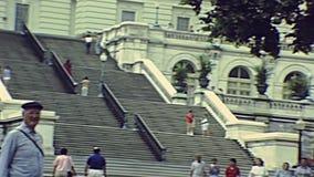 Washington DC, de bouw van het Capitool van de V stock video