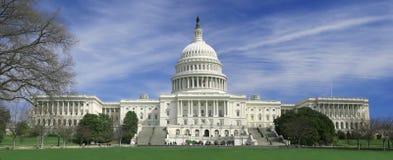 Washington DC, de bouw van het Capitool van de V.S. Royalty-vrije Stock Foto's