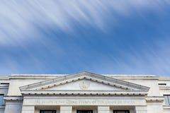 Washington DC de façade d'immeuble de bureaux de sénat de Dirksen photos stock