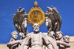 Washington DC de George Gordon Meade Memorial Civil War Statue Fotos de Stock Royalty Free