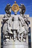 Washington DC de George Gordon Meade Memorial Civil War Statue Fotos de Stock