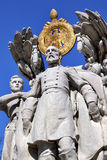 Washington DC de George Gordon Meade Memorial Civil War Statue Foto de Stock Royalty Free