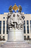 Washington DC de George Gordon Meade Memorial Civil War Statue Fotografia de Stock Royalty Free
