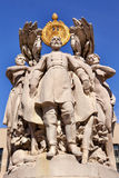 Washington DC de George Gordon Meade Memorial Civil War Statue Imagem de Stock Royalty Free