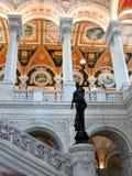 Washington DC de la Biblioteca del Congreso Imágenes de archivo libres de regalías