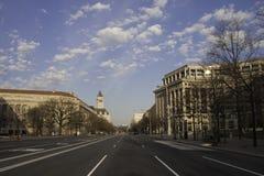 Washington DC de la madrugada Imagen de archivo libre de regalías