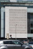 Washington DC de la Primera Enmienda 1 Imagenes de archivo
