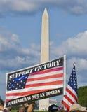 Washington DC de la protesta de la guerra Fotos de archivo