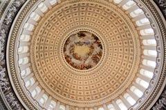 Washington DC de la Rotonda de Apothesis de la bóveda del capitolio de los E.E.U.U. fotos de archivo libres de regalías