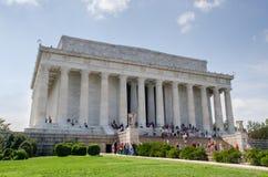 Washington DC de mémorial de Lincoln images stock