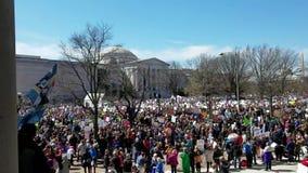 WASHINGTON, DC - 24 DE MARZO DE 2018: El marzo para nuestra demostración de las vidas