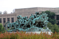 Washington DC de monument de mémorial de guerre civile Photographie stock libre de droits