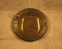 Washington DC de sceau de département du Trésor des USA Image libre de droits