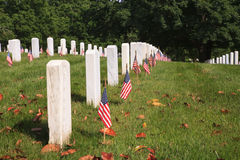 Washington DC del cementerio nacional de Arlington foto de archivo libre de regalías