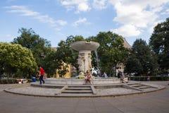 Washington DC del cerchio di Du Pont fotografia stock
