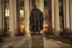 Washington DC del departamento del Tesoro de los E.E.U.U. Imágenes de archivo libres de regalías