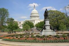 Washington DC del edificio del capitolio Fotos de archivo libres de regalías