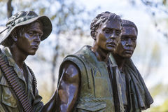 Washington DC del memoriale del Vietnam Immagine Stock Libera da Diritti