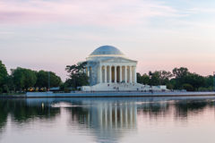 Washington DC del memoriale di Thomas Jefferson Immagine Stock