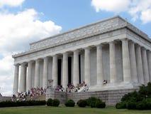 Washington DC del monumento de Lincoln Foto de archivo