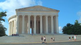 Washington DC del monumento de Lincoln