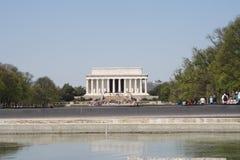 Washington DC del monumento de Lincoln Fotografía de archivo libre de regalías