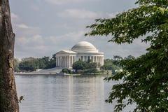 Washington DC del monumento de Thomas Jefferson Imagen de archivo libre de regalías