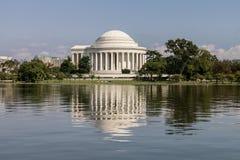 Washington DC del monumento de Thomas Jefferson Fotografía de archivo libre de regalías