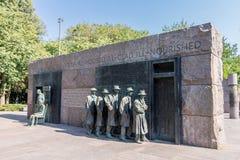 Washington DC del monumento del FDR Imagenes de archivo
