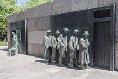 Washington DC del monumento del FDR Imágenes de archivo libres de regalías