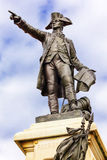 Washington DC del parque de general Rochambeau Statue Lafayette Imagen de archivo