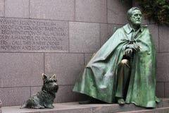 Washington DC del Presidente Roosevelt Memorial Fotografie Stock Libere da Diritti