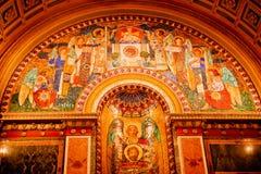 Washington DC della cattedrale del mosaico S Matthew Fotografia Stock